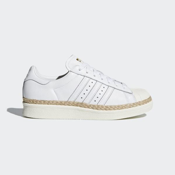 f8646306d6a Sapatos Superstar 80s New Bold Ftwr White   Ftwr White   Off White DA9573