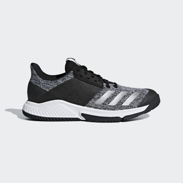 newest ffe92 f942c Crazyflight Team Shoes Core Black  Silver Metallic  Cloud White CP8895