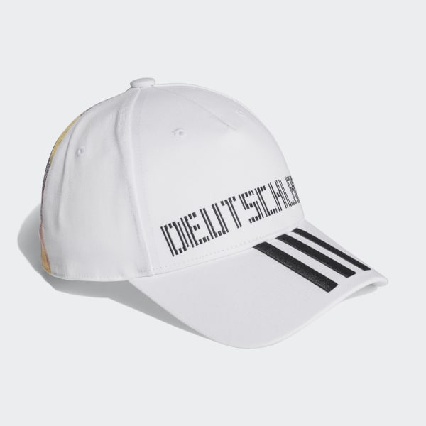 40cc0b0cab6 Germany Hat White   Black CF5196