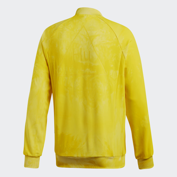 165c12ab2 adidas Pharrell Williams Hu Holi SST Track Jacket - Yellow