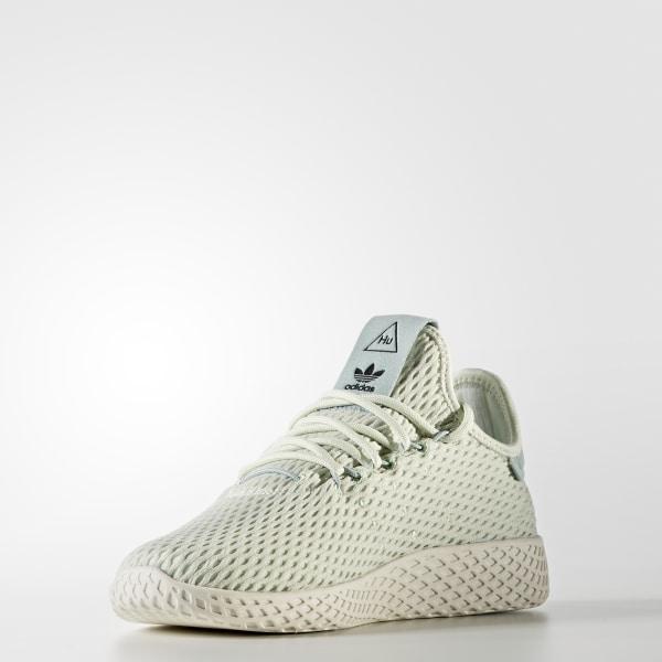 bedec3a6fc0e8 Pharrell Williams Tennis Hu Shoes Linen Green   Linen Green   Cloud White  CP9806