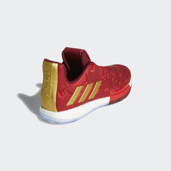 Harden Vol. 3 Shoes Scarlet / Collegiate Burgundy / Gold Metallic EF2397