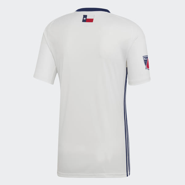 b866ba67c FC Dallas Away Jersey White   Night Blue DP3066