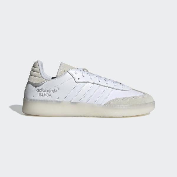 Samba RM Schuh Ftwr White / Ftwr White / Grey Two BD7486