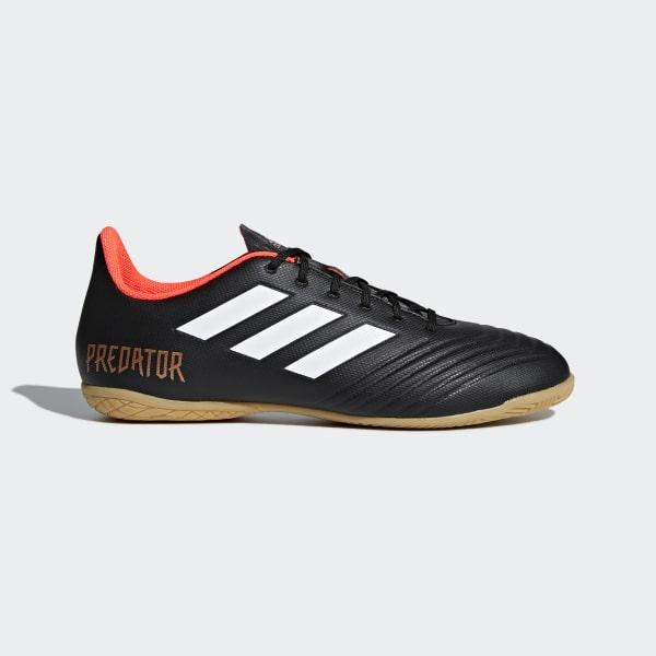 Chimpunes de Fútbol Predator Tango 18.4 Indoor CORE BLACK FTWR WHITE SOLAR  RED CP9275 a9a286a9a2be0