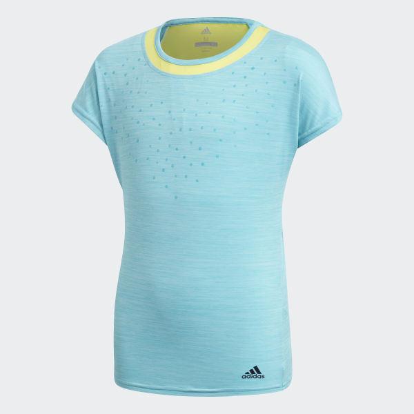 Camiseta Dotty - Turquesa adidas  2eb423f5f4e10
