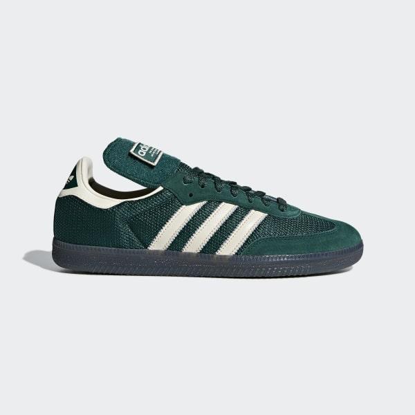 Samba LT Shoes Collegiate Green   Ecru Tint   Collegiate Green B44674 469eda762