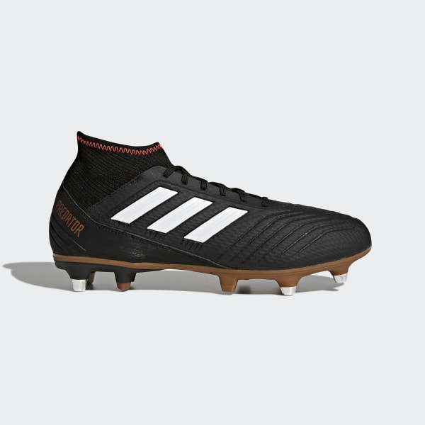 hot sales c30be fe6d4 Predator 18.3 Soft Ground Boots Core BlackFtwr WhiteSolar Red AH2316