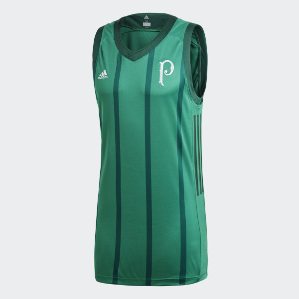 Regata Basquete Palmeiras 1 BOLD GREEN COLLEGIATE GREEN CW3274 ea0929fece65d
