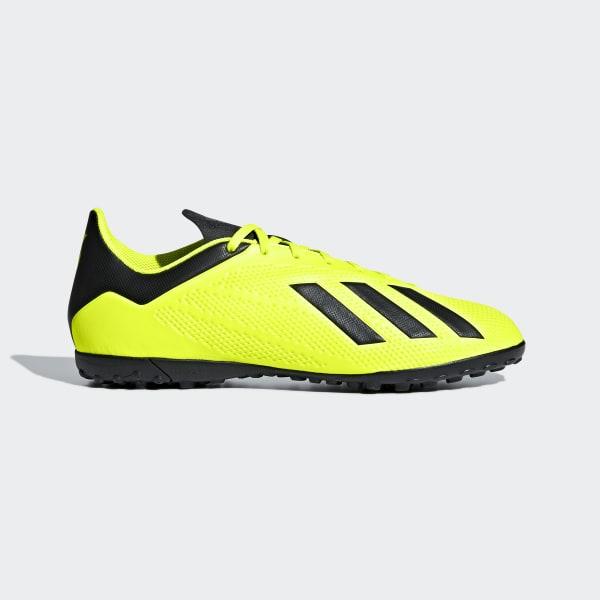 Zapatos de Fútbol X Tango 18.4 Césped Artificial SOLAR YELLOW CORE BLACK FTWR  WHITE 31237de9fad2d