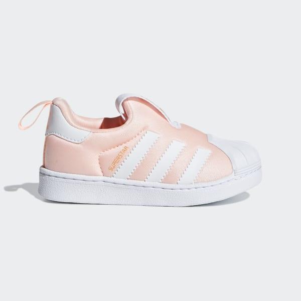 2b31188202 Sapatos Superstar 360 Pink   Ftwr White   Gold Met. DB2882