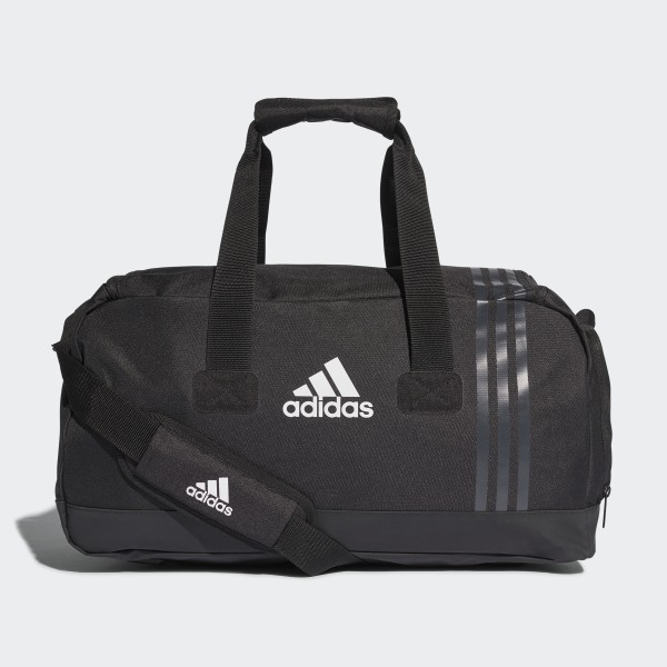0119544126229 Tiro Team Bag Small Black   Dark Grey   White B46128