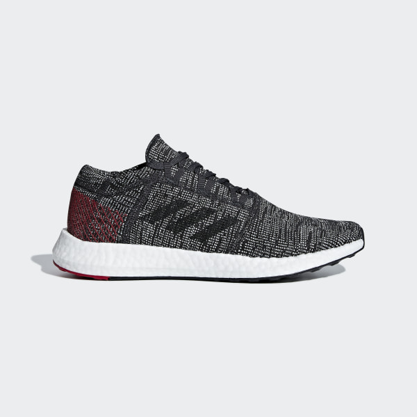 a8a63b9e6 Pureboost Go Shoes Carbon   Core Black   Power Red AH2323