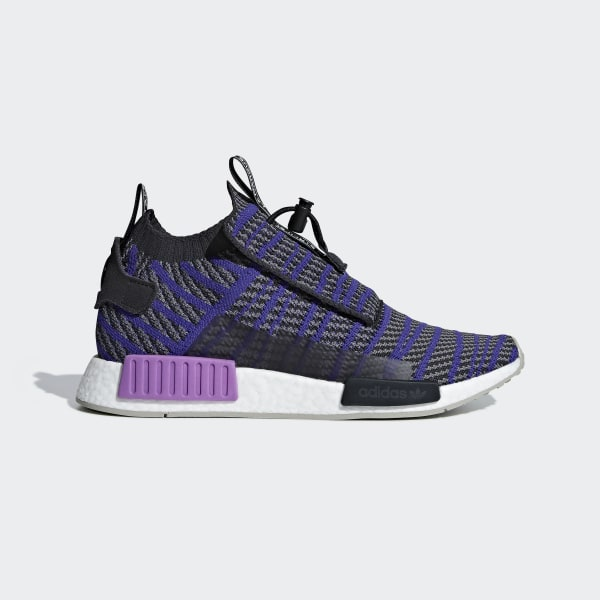 786ed9098678a NMD TS1 Primeknit Shoes Carbon   Energy Ink   Grey Four BB9177