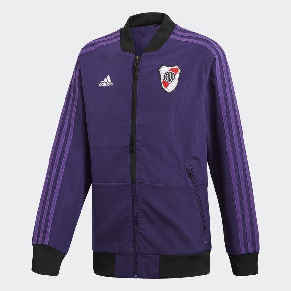 bb53fbc25 Campera de Presentación Club Atlético River Plate DARK PURPLE POWER PURPLE  CW5683