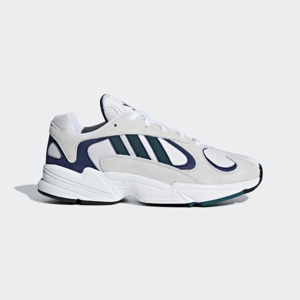 fff59fbbd68038 Yung-1 Shoes Cloud White   Noble Green   Blue G27031