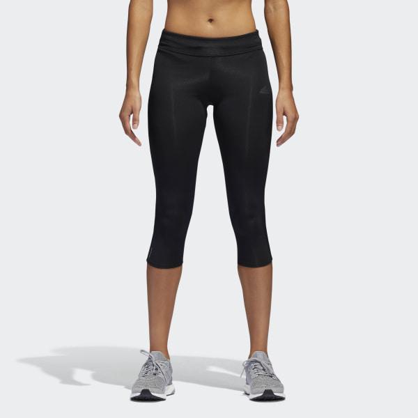 6460e216e19 adidas Legíny Response Three-Quarter - černá