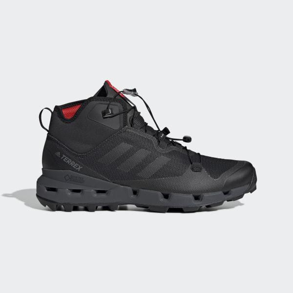 27496fbc7 TERREX Fast Mid GTX-Surround Shoes Black   Core Black   Grey Six DB3395