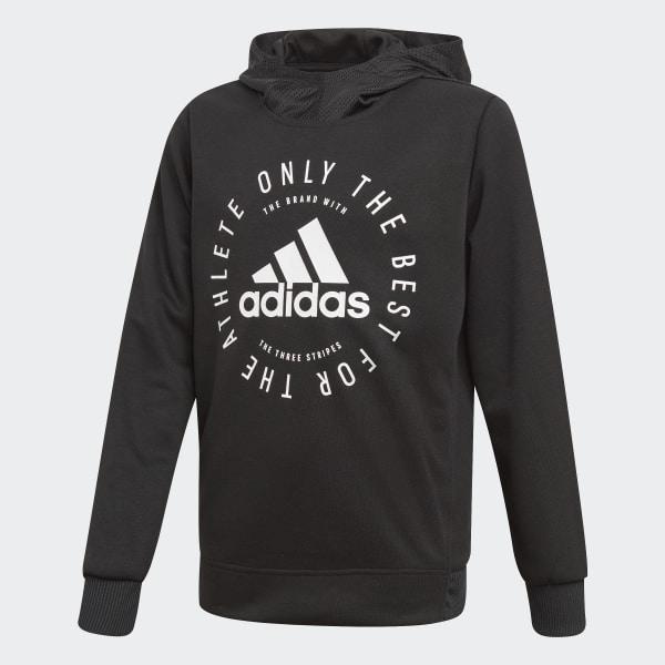 adidas Sport ID Hoodie - Black  ed7f37fc57d