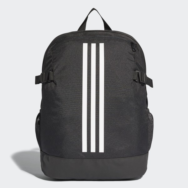 e03b0f5172 3-Stripes Power Backpack Medium Black White White BR5864