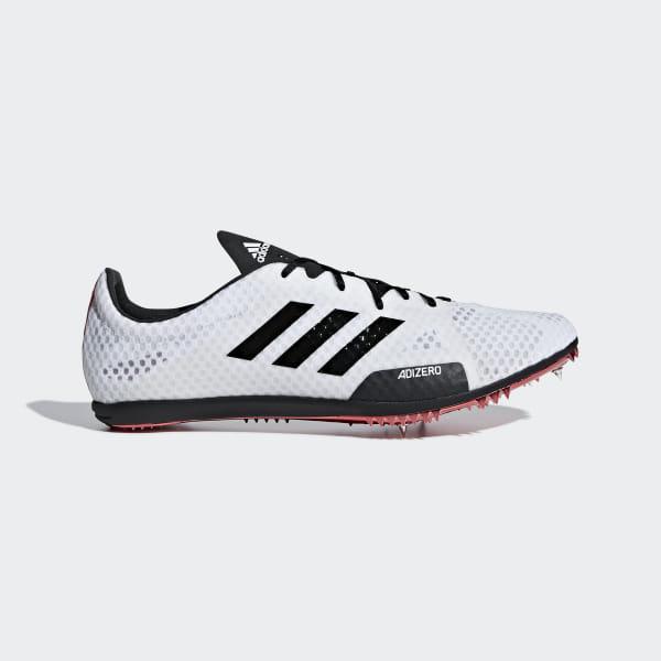 0fffd6e1b82 Sapatos de bicos Adizero Ambition 4 Cloud White   Core Black   Shock Red  B37483