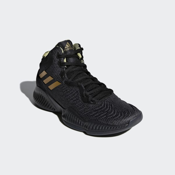 promo code 8e393 7eef0 Mad Bounce 2018 Shoes Core Black   Gold Met.   Carbon B41870