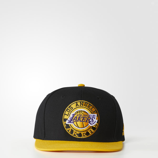 952b876d271 adidas Lakers Snapback Hat - Multicolor