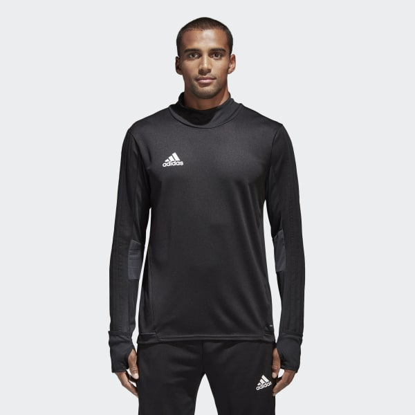 Camiseta manga larga entrenamiento Tiro 17 Black Dark Grey White BK0292 0d2fffaff5d64