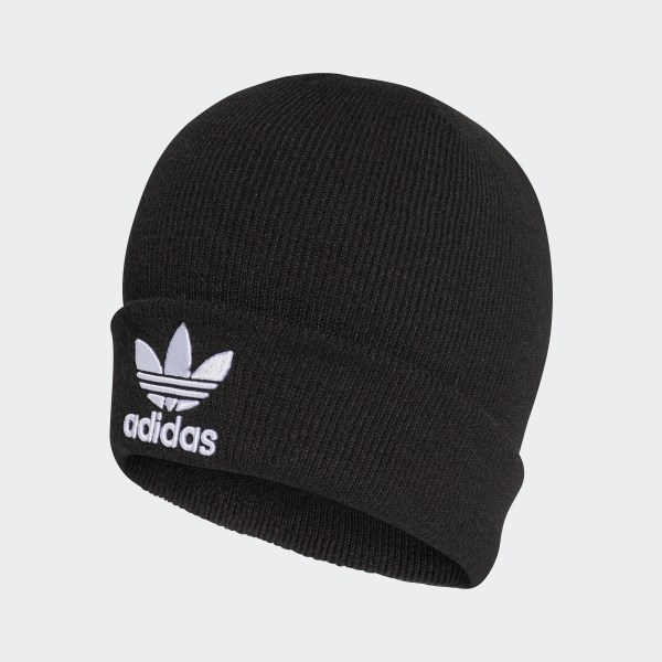 Bonnet Trefoil noir adidas | adidas Switzerland