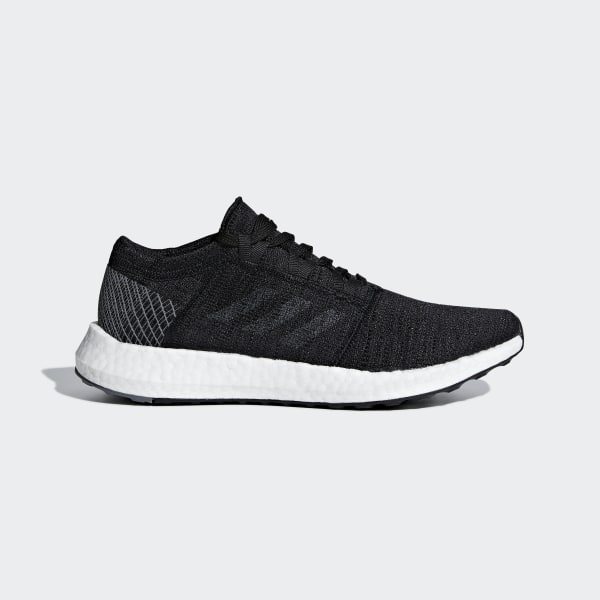 timeless design c5ff0 85f24 Pureboost Go Shoes Core Black   Grey   Grey B75665