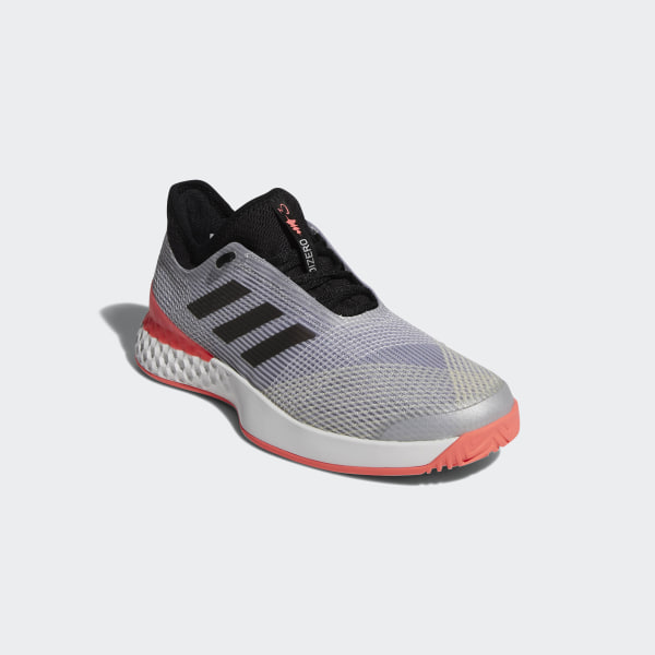 the latest 9bad5 2390d Adizero Ubersonic 3.0 Shoes Grey  Core Black  Flash Red CP8853