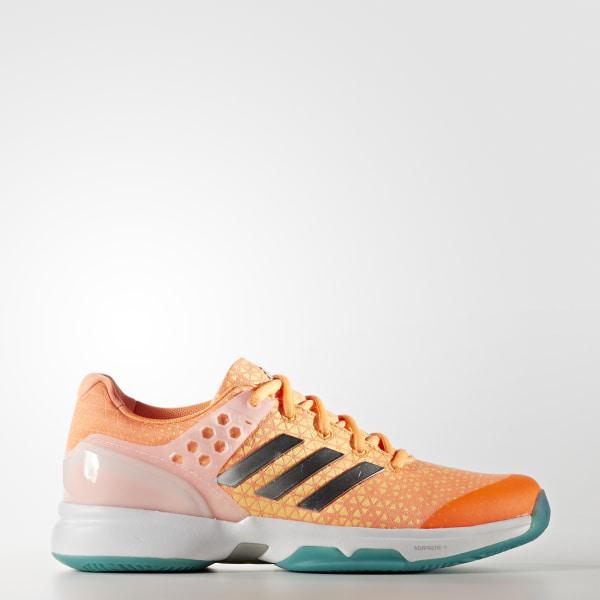 meet 683b9 5ef1d Zapatos para tennis adizero Ubersonic 2.0 GLOW ORANGE SILVER MET. SAMBA  BLUE BB4810