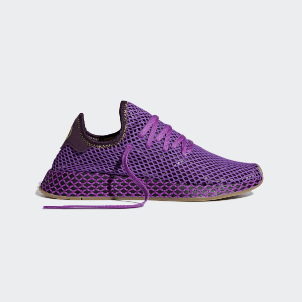 best cheap 970b9 8b3da Dragonball Z Deerupt Runner Shoes Shock Purple  Red Night  Shock Yellow  D97052