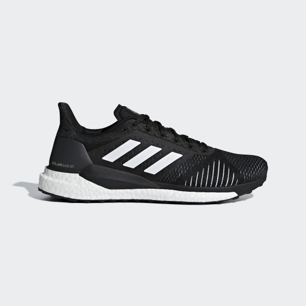 fc8e944ed Solar Glide ST Shoes Black   Ftwr White   Grey Three CQ3178
