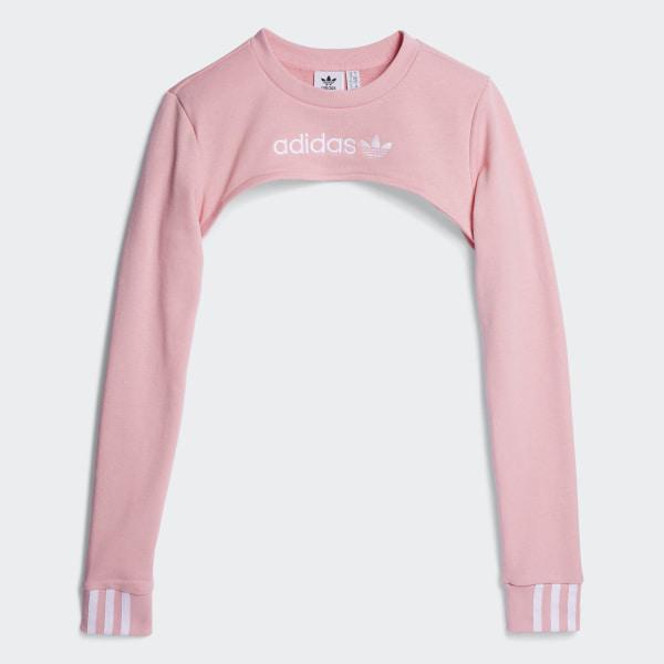 Sweat-shirt Shrug - rose adidas   adidas Switzerland 18c2d22916a