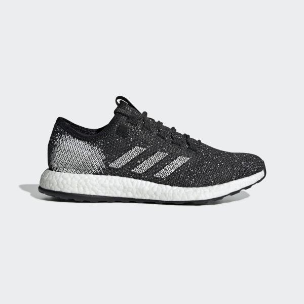 low priced bfc76 776ae Pureboost Shoes Core Black   Running White   Raw White B37775