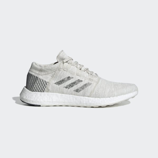 712dafd6abd Pureboost Go Shoes Non Dyed   Grey Six   Raw White B37802