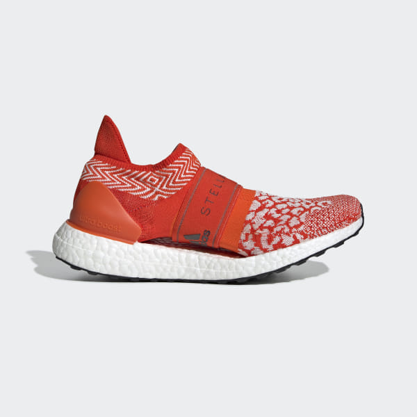 ebc25fe6343 Ultraboost X 3D Shoes Core White   Bold Orange   Radiant Orange D97848