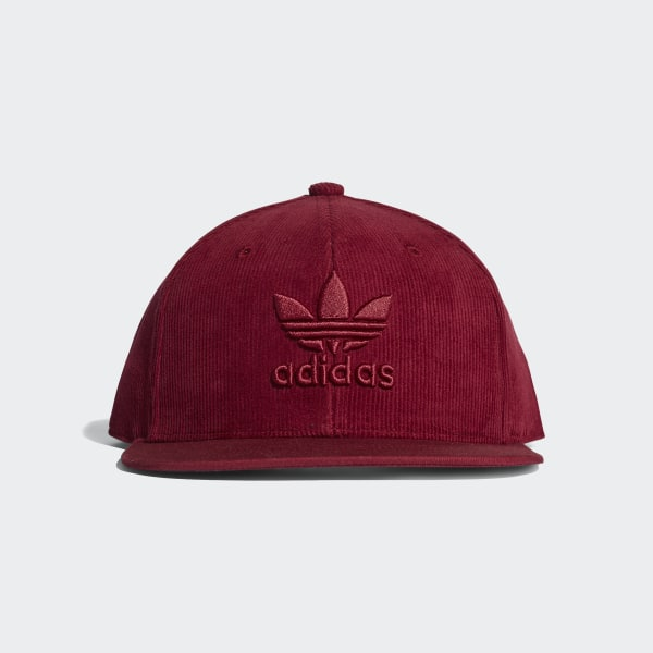 adidas Trefoil Snapback Cap - Red  8b9aa641e80