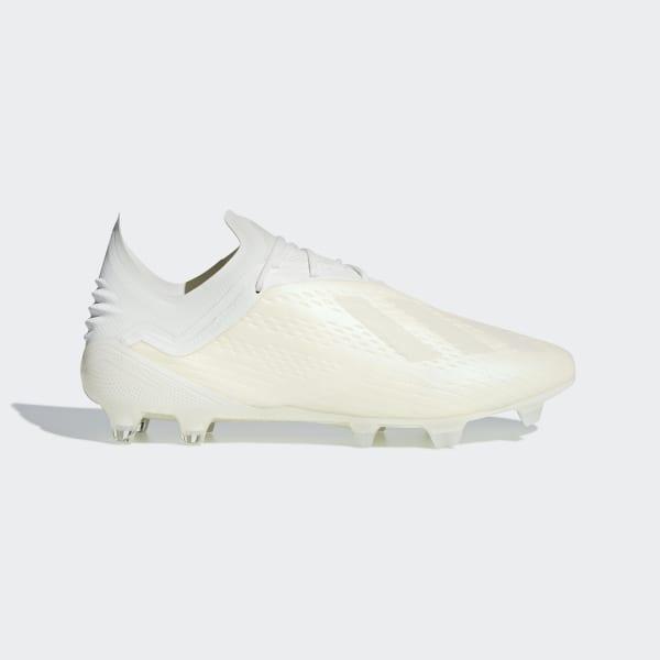 Zapatos de Fútbol X 18.1 FG OFF WHITE FTWR WHITE CORE BLACK DB2247 1d18181c243bc