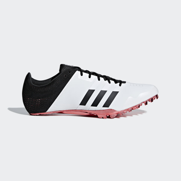 f73133a2624 Sapatos de Bicos Adizero Finesse Ftwr White   Core Black   Shock Red B37488