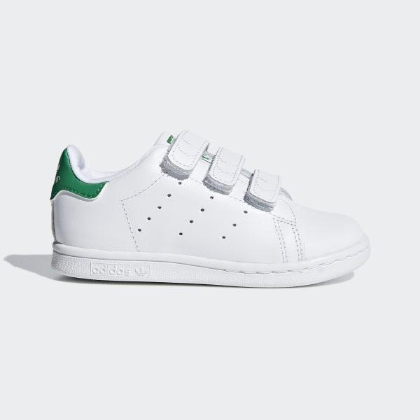 super popular dc645 15f71 Scarpe Stan Smith Footwear White   Footwear White   Green BZ0520