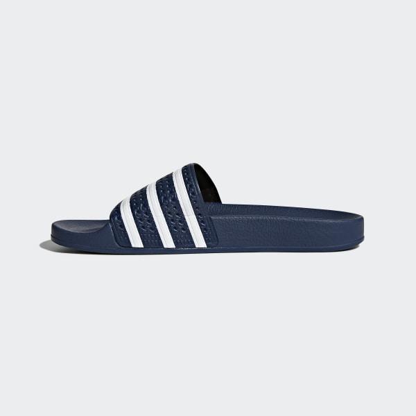 save off d90f5 ef8e5 adilette slippers AdiblueWhite 288022