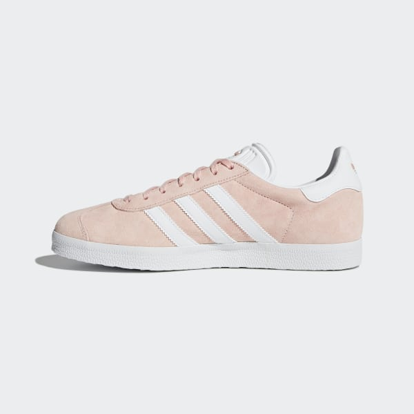 pretty nice 72f51 59a7c Gazelle Shoes Vapor PinkWhiteGold Metallic BB5472