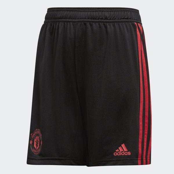 309db1752f3 Calções de Treino do Manchester United Black   Blaze Red   Core Pink CW7602