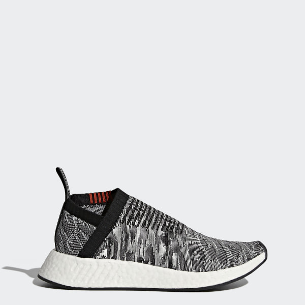 40c10d55b5e41 NMD CS2 Primeknit Shoes Core Black   Core Black   Future Harvest BZ0515