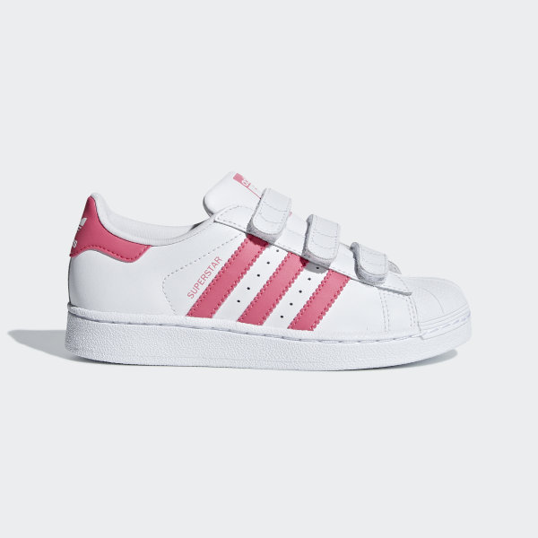 91c8fc8641c43 Chaussure Superstar Ftwr White   Real Pink   Real Pink CG6621