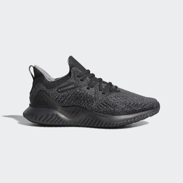 5abc36f3fc3a0 Alphabounce Beyond Shoes Carbon   Grey Three   Core Black AQ0573