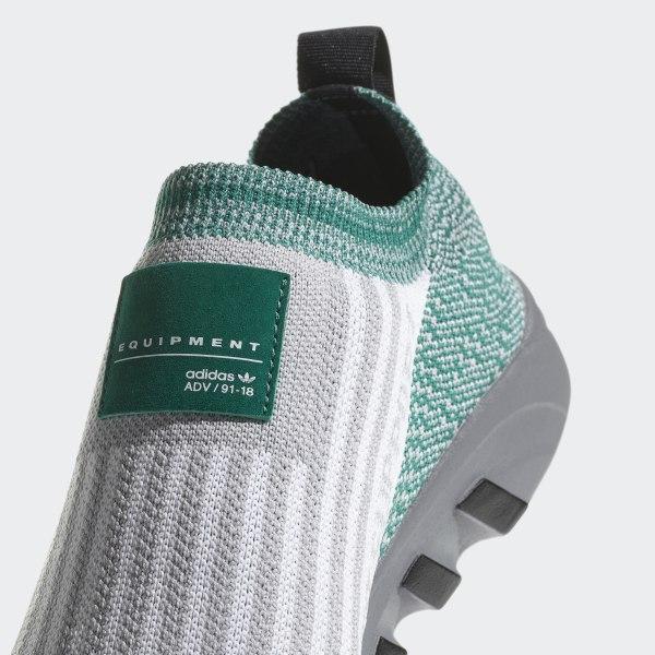 6eb099f50429 EQT Support SK Primeknit Shoes Grey Two   Cloud White   Sub Green AQ1032