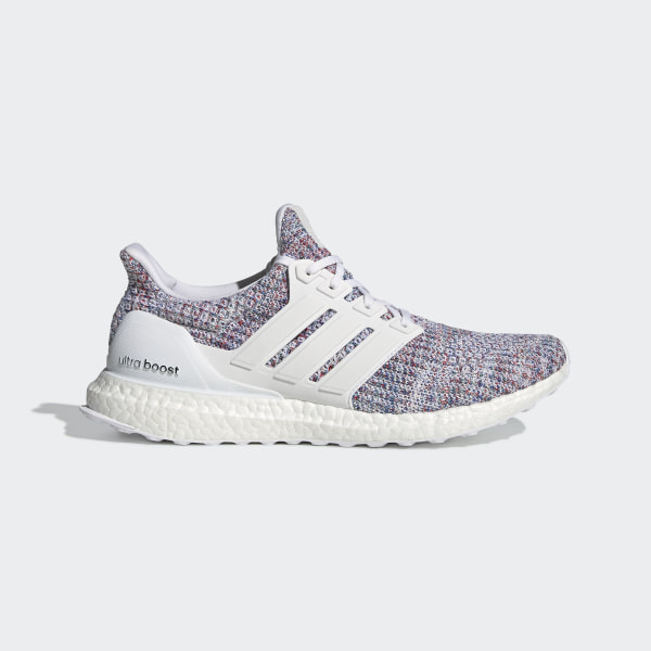 5e2363170 Ultraboost Shoes Cloud White   Cloud White   Blue DB3198